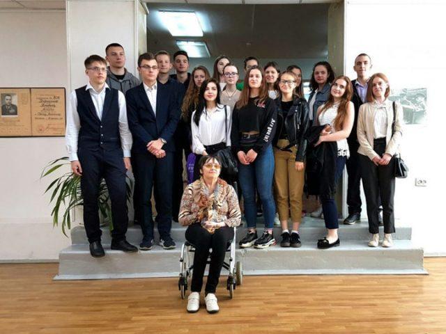 Чевордаева встреча со школьниками