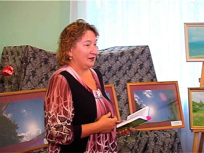 Творческий вечер Т. Чевордаевой в Ивантеевке в октябре 2013 года
