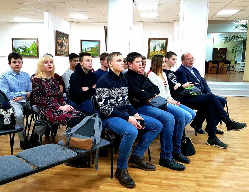 Третье мотивационное выступление прошло 18 декабря в библиотеке им. Горбунова