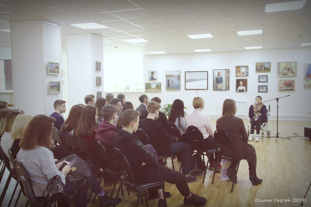 Состоялась четвертая мотивационная лекция-встреча со школьниками