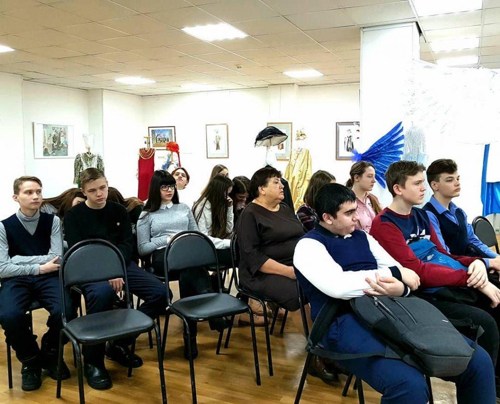 Состоялась 6-я мотивационная лекция-встреча со школьниками