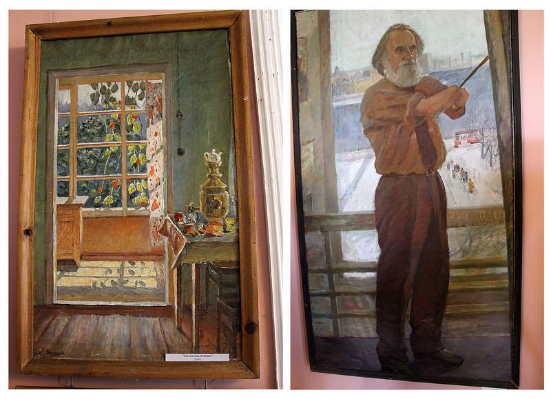 Леонид Птицын - художник без рук